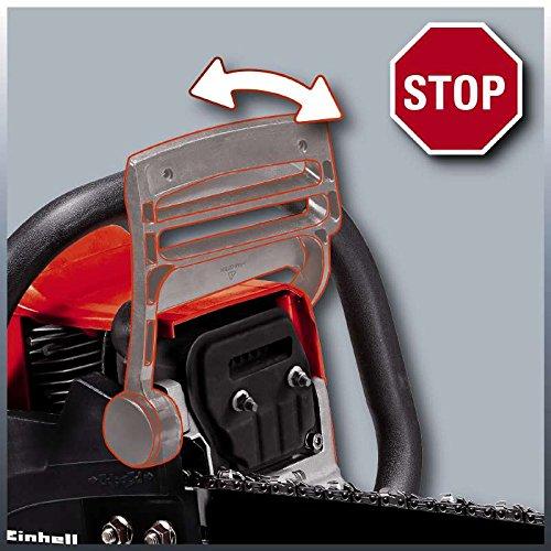 Einhell Benzin Kettensäge GC-PC 2040 I (2 kW, 40 cm Schwertlänge, 21 m/s Schnittgeschwindigkeit, automatische Kettenschmierung, inkl. Schwertschutz) - 5
