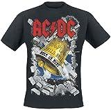 AC/DC Hells Bells T-Shirt schwarz XXL