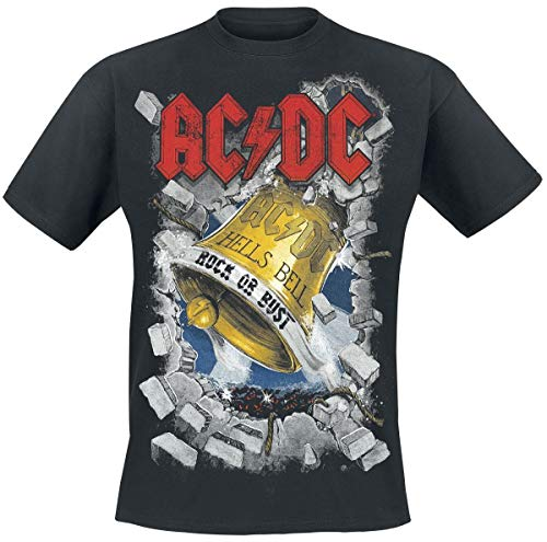 AC/DC Hells Bells T-Shirt schwarz XL