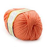 Gamboge : Baby Yarn Handcraft Worsted 50G Sweater Wool Knitted Cashmere Warm Smooth Soft Knitting