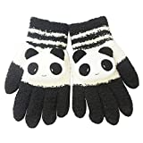 niceEshop Damen Winter Süß Panda Design Touchscreen Handschuhe