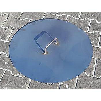Deckel für eine Feuerschale Ø 80 cm: Amazon.de: Garten