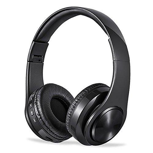 Auriculares QFFL ZXQAuricular Bluetooth Inalámbrico/Deportes Al Aire Libre Cabeza Ponible/Salida Estéreo/para Computadora Juegos/Tarjeta Inalámbrica Enchufable Blueto