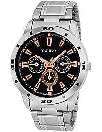 Tarido New Style Black Dial Analog Wrist Watch For Men/Boy