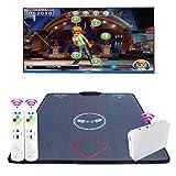 dda5893f2112 QMKJ Dance Mat pc TV para niños Alfombra de Baile Individual HD inalámbrico Adelgazante  máquina de Baile Antideslizante TV Ordenador de Doble Uso para ...