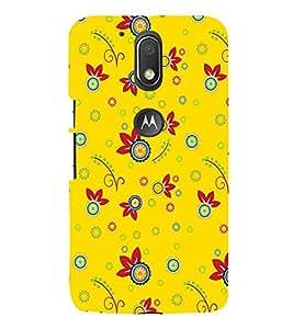 PrintVisa Designer Back Case Cover for Moto G Play (4th Gen) :: Motorola Moto G4 Play (art season star pattern disks)