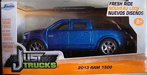 JADA JUST TRUCKS 1:32 SCALE BLUE 2013 RAM 1500 DIE-CAST by Jada