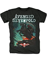 Avenged Sevenfold Men's T-Shirt Black Black