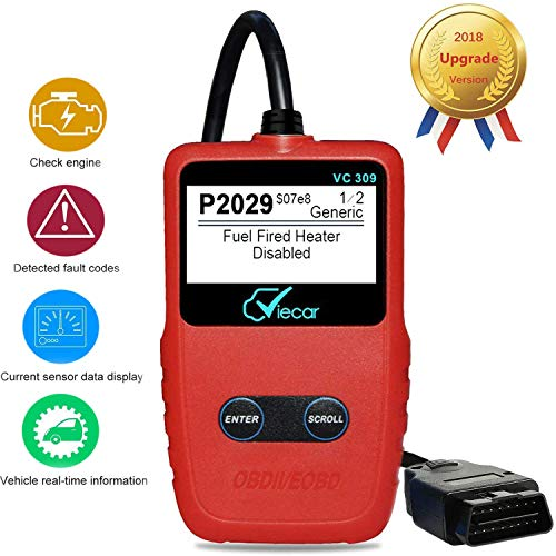 2018 Upgraded OBDii 2 Lecteur de Code Can Diagnostic Scan Handheld Tool V/érification de la Lumi/ère du Moteur Codes de Panne du V/éhicule Cinq Langue de Support Autmor OBD2 Scanner Auto