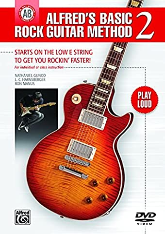 Alfred's Basic Rock Guitar, Book 2 DVD : The Most Popular Series for Learning How to Play - Guitare --- Alfred Publishing