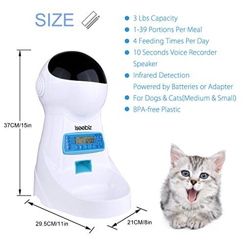 Zoom IMG-1 distributore automatico cibo gatti iseebiz