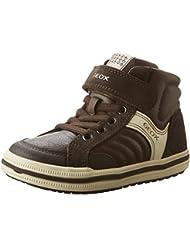 Geox Jungen Jr Elvis A Hohe Sneakers