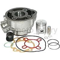Unbranded 50 CCM Zylinder KIT Set KOMPLETT für MINARELLI AM3 AM4 AM5 AM6 Motor Wasser Zylinderkit