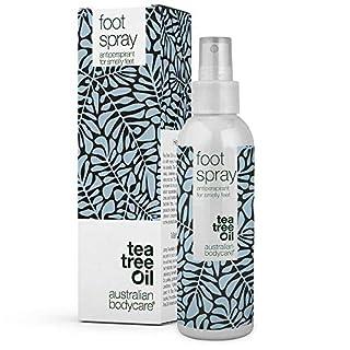 Australian Bodycare foot spray - Fußdeo gegen stinkende Füße. Fußspray gegen Gerüche & Schuhspray - direkt auf dem Fuß oder im Schuh anwenden. Gegen Schweißfüße und Geruch.