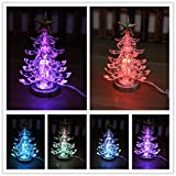 USB LED Weihnachten Design Ändern Farbe Licht Schreibtisch Dekoration Weihnachtsstrumpf Wurststopfer