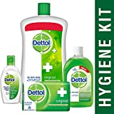 [Sponsored]Dettol Sanitizer Original - 50 Ml With Handwash Original - 900 Ml, Dettol Original Soap - 125g And Multi Hygiene...