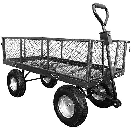 handy-lgt-large-steel-garden-trolley-with-punctureless-wheels-350kg-capacity