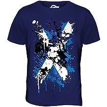 Bandera Escocia Estampado Abstracto camiseta hombre Camiseta Top