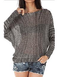 Bestyledberlin Damen Pullover, Strick Pulli t29p