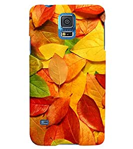 MakeMyCase color leaves case for Samsung Galaxy S5