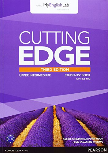 Cutting Edge 3rd Edition Upper Intermediate Students' Book with DVD andMyEnglishLab Pack