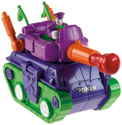 Imaginext Tanque de juguete con Joker