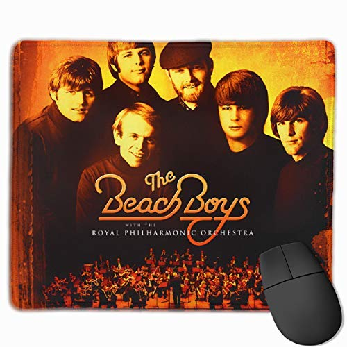 ncnhdnh The Beach Boys American Rock Band Mouse Mat,Gaming & Office Mouse Pad Non-Slip and Accurate Speed Pad Rubber Base 25X30 in -