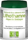 Lithothamne - Algue de Bretagne - Minéraux et Oligo-éléments marins - 300 gélules