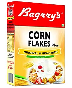 Bagrry's Original and Healthier Corn Flakes Plus, 475g