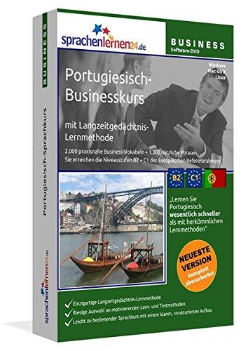 Portugiesisch-Businesskurs mit Langzeitgedächtnis-Lernmethode von Sprachenlernen24: Lernstufen...
