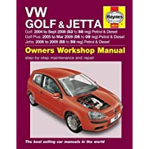 VW Golf (04 - Sept 08), Golf Plus (05 - Mar 09) & Jetta (06-09) Haynes Repair Manual
