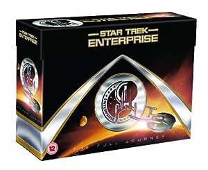 """The Complete Star Trek Enterprise - Full Journey DVD Collection: Season 1, 2, 3, 4 + Special Features (27 Discs) Box Set"""