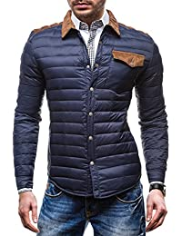 BOLF Herren Sweatjacke Jacke Slim Fit SKORP 1601