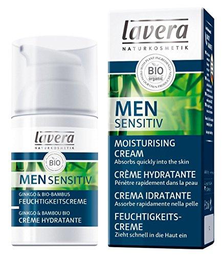 Lavera Men Crema Idratante Con Ginkgo & Bambù Biologico - 30 ml.