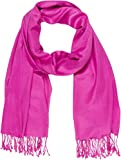 "Sakkas 78"" X 28 ""Silky Soft Solid Pashmina Schal / Wrap / Stola - Violett"
