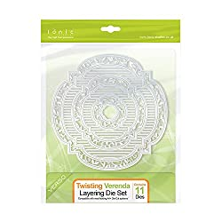 Tonic Studios Twisting Veranda Layering Die, Grey, Large