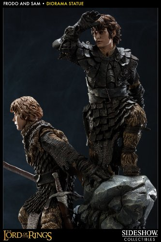 The Lord of the Rings - Frodo Baggins & Samwise Gamgee Statue (japan import) 2