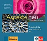 Aspekte neu B2. 3 Audio-CDs zum Lehrbuch