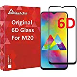 VALUEACTIVE Accessories For All Tempered Glass for Samsung Galaxy M20 (6D)-Edge to Edge Full Screen Coverage with easy installation kit