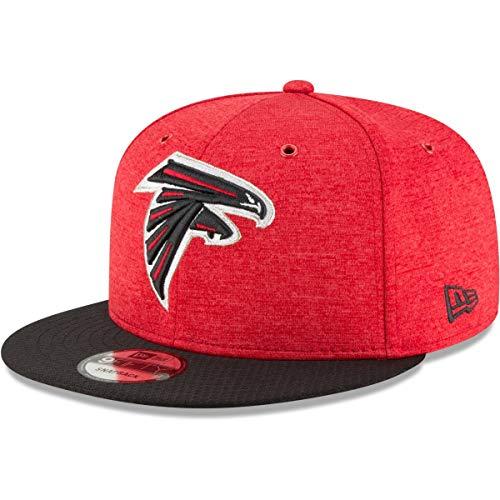 New Era NFL Atlanta Falcons Authentic 2018 Sideline 9FIFTY Snapback Home Cap, Größe :M/L
