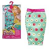 Barbie - Tendance Mode pour les Vêtements de Poupée Barbie - Jupe à Fleurs