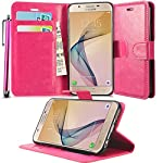 Provides your phone with a rich sophisticated look with Glistening Deluxe surface. Provide Card slots to carry Credit cards, Cash or Receipts - No more bulky wallets. Gentle but firm magnetic clasp to secure the case intact and easy opening. Wallet ...