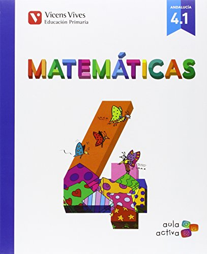 Matematicas 4 (41 - 42 - 43) aula activa andalucia: 000001
