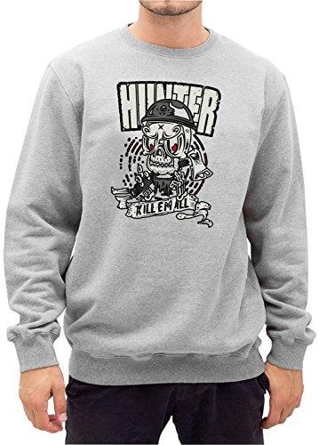 Certified Freak Hunter Killer Sweater Grey XXL
