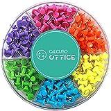 Punaises multicolores, classés selon les couleur, 240 pièces