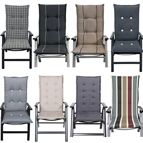 Hot Stock Sitzauflagen Hochlehner Stuhlauflage Gartenmöbel Kissen