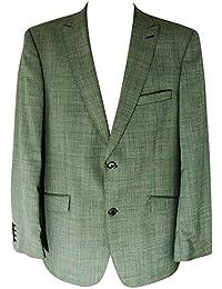 Pierre Laffitte Herren Schurwolle Sakko Mens Wool Blazer Gr. 52 Grau mel. S119