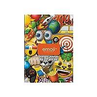 School Diary 2019-2020 - 17 x 12 cm - Multi-Language - Emoji - Fun and Game