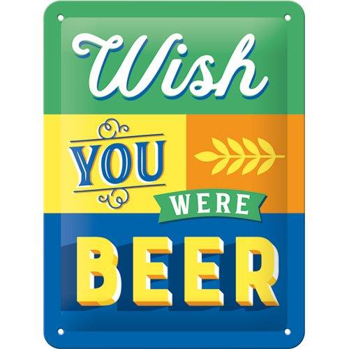Nostalgic-Art 26229Wish You were Beer | Retro Cartel de Chapa | Vint