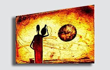 Quadro Moderno Etnico Arte Africa - Tantissime Misure e Formati ...